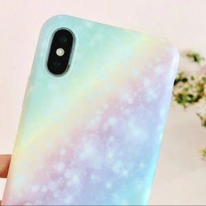 Accessories - NEW iPhone X/XS Pastel Rainbow Case